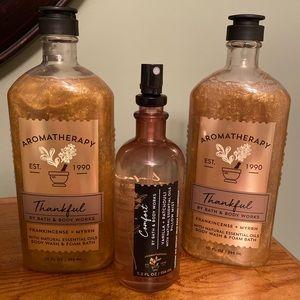 Aromatherapy bundle bath & body works 3 piece NEW
